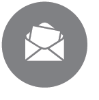Gray Mail Icon